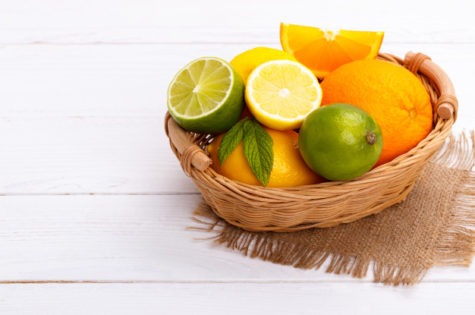Fun Citrus Fruit Baskets are Perfect for Summer Entertaining